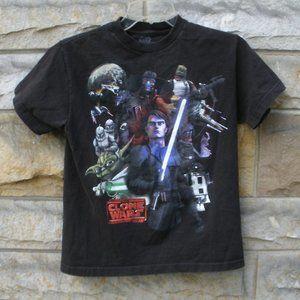 Star Wars Clone Wars Characters T-Shirt